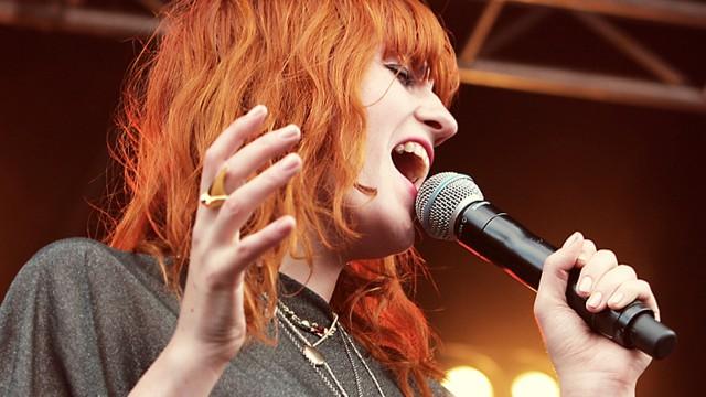 Florence + the Machine. (Foto: Rashid Akrim, Nrk P3)