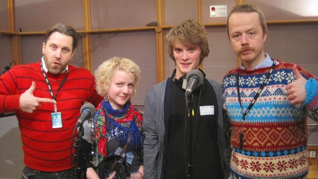 Drømmedag med Erlend og Steinjo på Marienlyst. (Foto: Tuva Dyrnes, NRK P3)