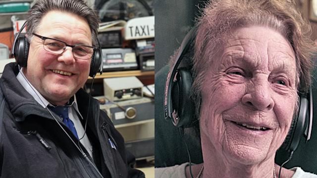 Hør hva Taxi-Trond (64) og Bogga (89) synes om Urørtfinalistene. (Foto: Kristin Evensen Giæver)