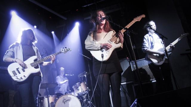 Razika. Her fra en tideligere konsert på internasjonalen. (Foto: Mattis Folkestad, NRK P3)