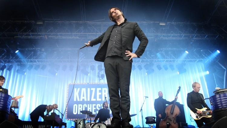 Kaizers Orchestra på Øyafestivalen 2008 (Foto: Nrk P3)