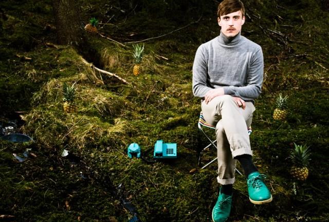 Henning produserer musikk under navnet Telephones. (Promofoto: Håvard L. Johansen, Myspace)