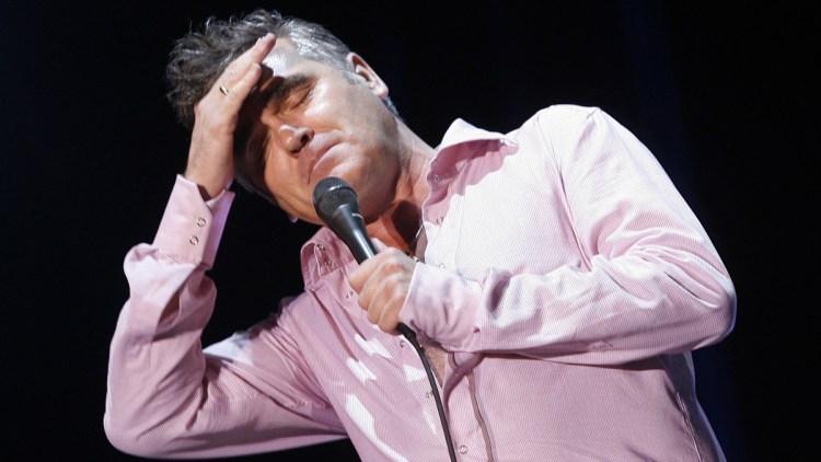 Morrissey. (Foto: AFP PHOTO/DIEGO TUSON)