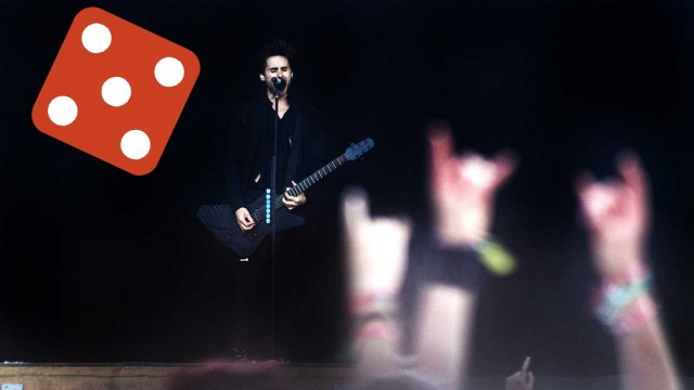 30 Seconds to Mars på Hovefestivalen 2011. (Foto: Tom Øverlie, NRK P3)
