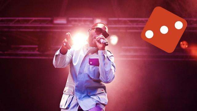 Tinie Tempah - Hovefestivalen 2011. (Foto: Kim Erlandsen, NRK P3)