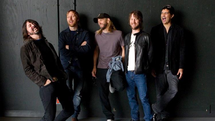 Dave Grohl og resten av Foo Fighters. (Foto: Scanpix)