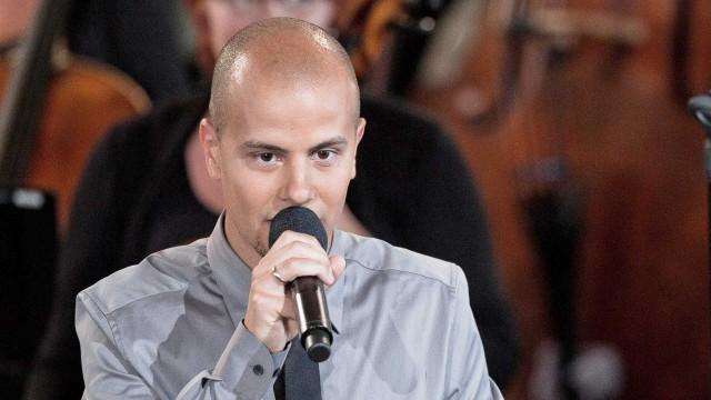 Magdi Adelmaguid under minnekonserten i Oslo Domkirke. (Foto: Scanpix)