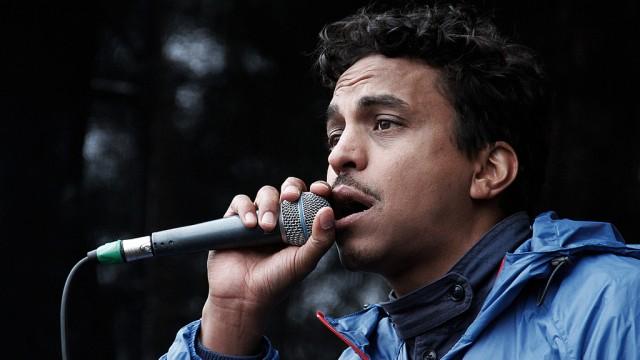 Timbuktu på P3-scenen under årets Hovefestival. (Foto: Lars H. Andersen, NRK P3)