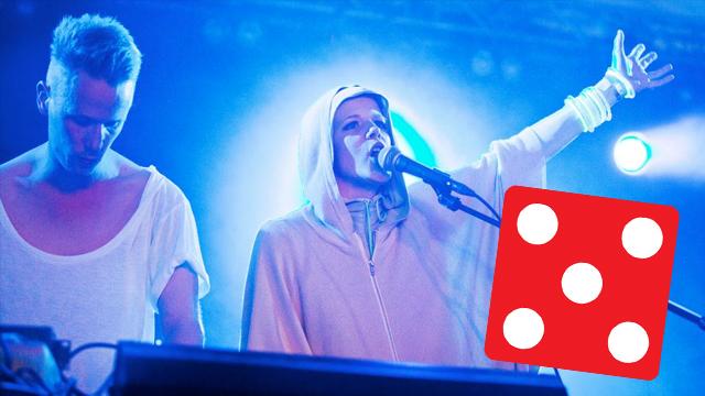Sandra Kolstad på Øyafestivalen. Foto: Tom Øverlie, NRK P3.