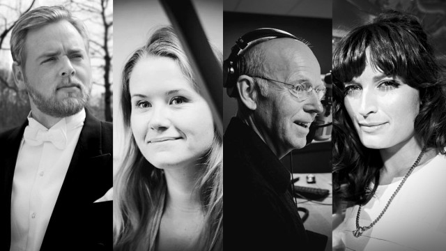 Tore, Live, Trond-Viggo og Lise skal løse problemer i Trondheim under UKA sammen med Siri i Lørdagsrådet. (Foto/Kollasj: NRK P3)
