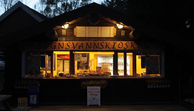 Sognsvannskiosken (Foto: NRK)