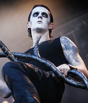 Sigurd Wongraven aka Satyr i metalbandet Satyricon. (Foto: Kim Erlandsen, NRK P3)