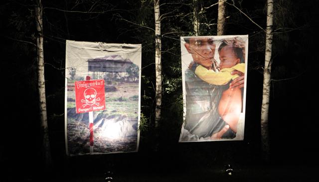 Werner Andersons bilder viser grusomhetene (Foto: NRK)