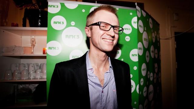 NRK Ungs tv-sjef, Håkon Moslet.  (Foto: Katrine Opdahl, NRK P3)