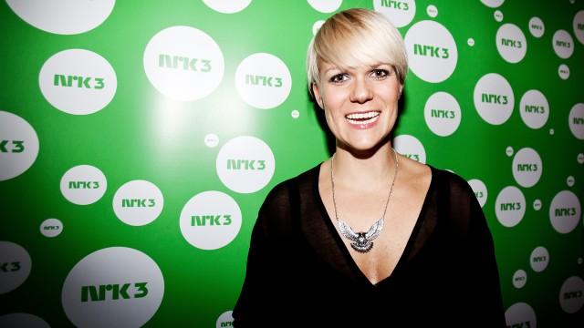 Premierefest, Dama til. (Foto: Katrine Opdahl, NRK P3)