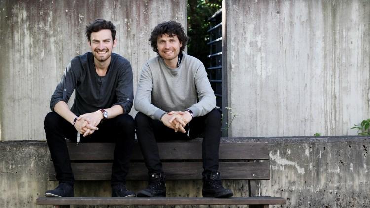 Erik og Magnus Eliassen. Bildet er tatt i forbindelse med Topp 20 i Trondheim, i fjor.