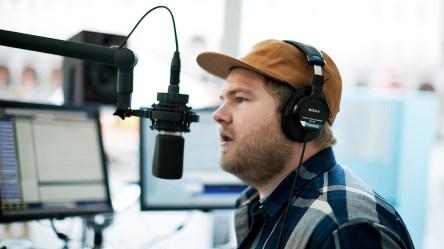 Ken var programleder under P3aksjonen 2011 (Foto: NRK)