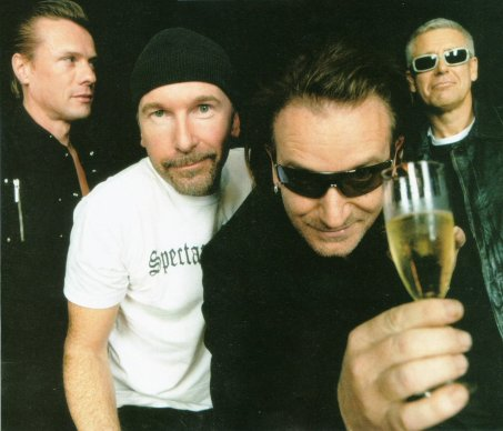 U2 slipper et nytt album (Foto: Presse)