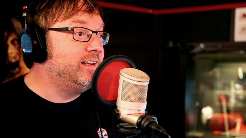 Birger Vestmo i Filmpolitiets videopodkast. (Foto: Martin Aas).
