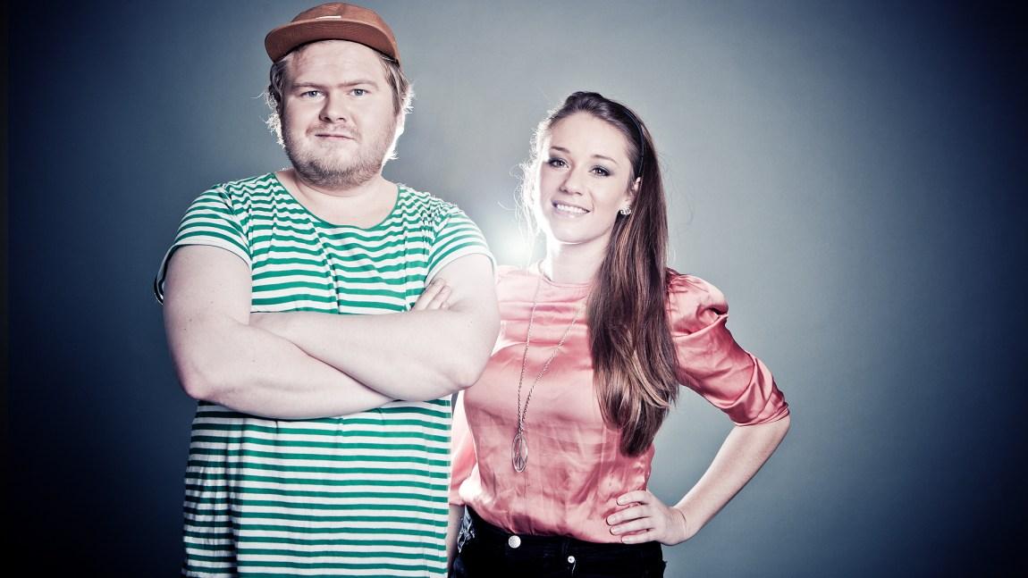 Mikstape kom på lufta i 2012. Den gangen med Ken og Ida som programledere (Foto: NRK P3)
