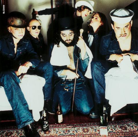 Bilde fra Apocalypse Dudes-albumet til Turboneger. (Foto: EMI).