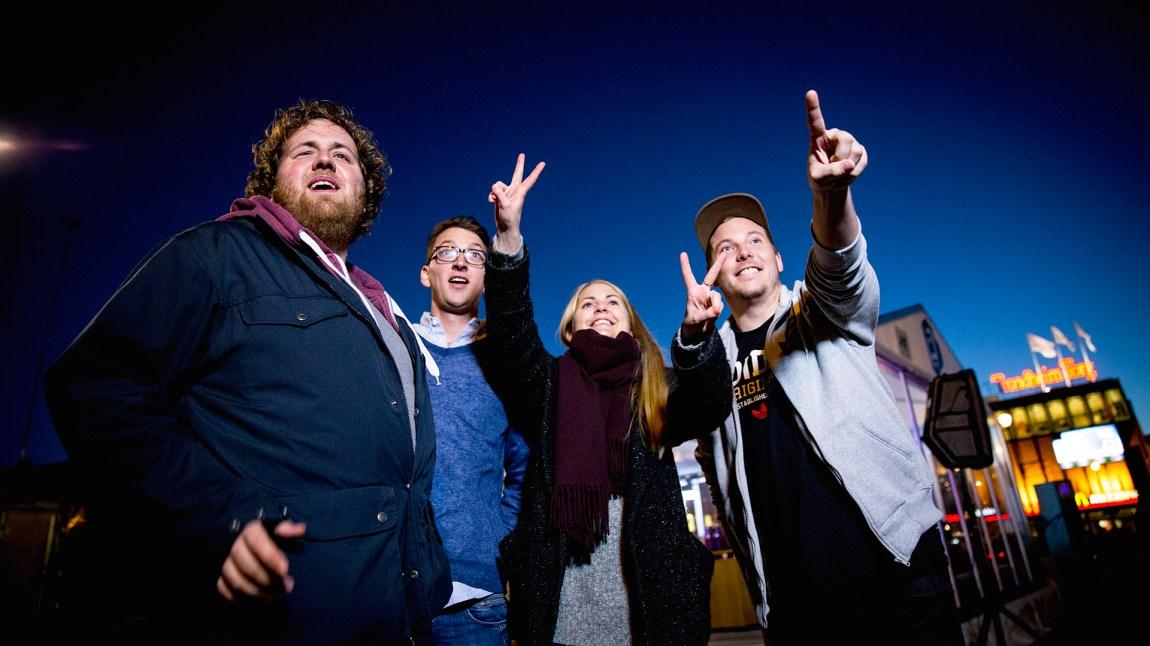 Klare for P3aksjonen 2014! Foto: Jonas Jeremiassen Tomter, NRK P3