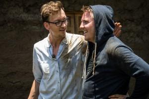 Mathias Nylenna tok med seg radiokollega Niklas Baarli på en annerledes reise til Etiopia. Foto: Hilina Abede