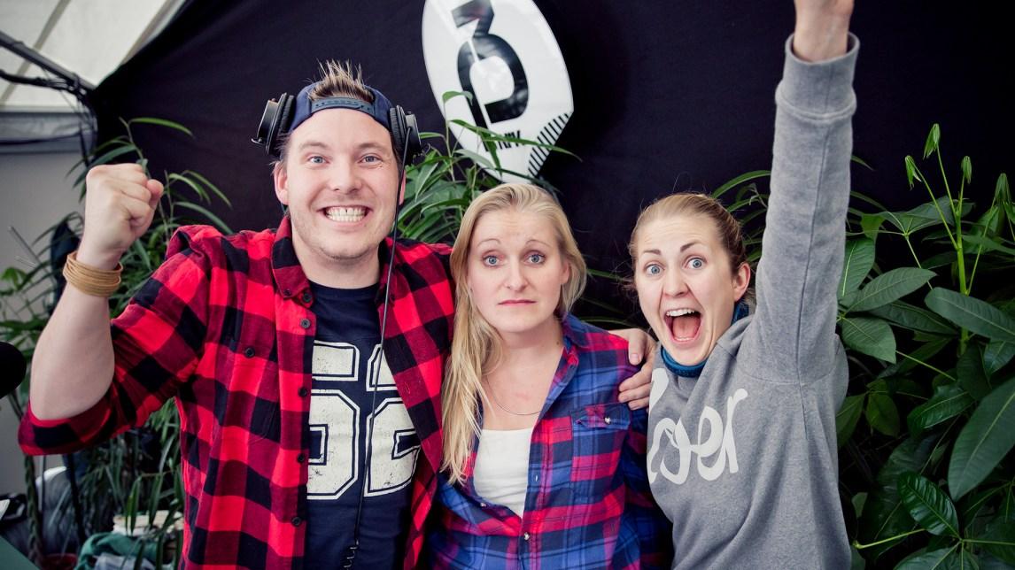 P3aksjonen 2015. Foto: tom Øverlie, NRK P3