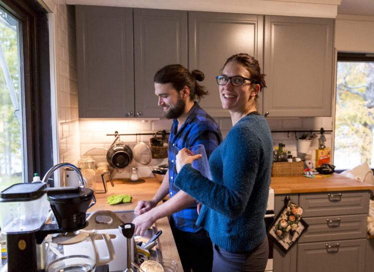 Marens intense og festlige jakt på en kjæreste, endte faktiske med at hun traff Fabian. Foto: Synne Eggum Myrvang, NRK P3.