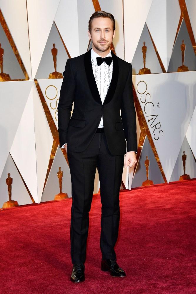 Ryan Gosling var nominert til Oscar for beste mannlige hovedrolle. AFP/NTB Scanpix