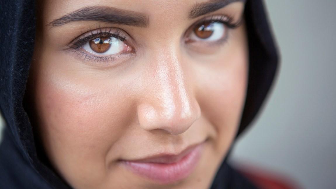 Vil Faten Mahdi Al-Hussaini finne et parti som kan representere henne? Foto: Christian Breidlid.
