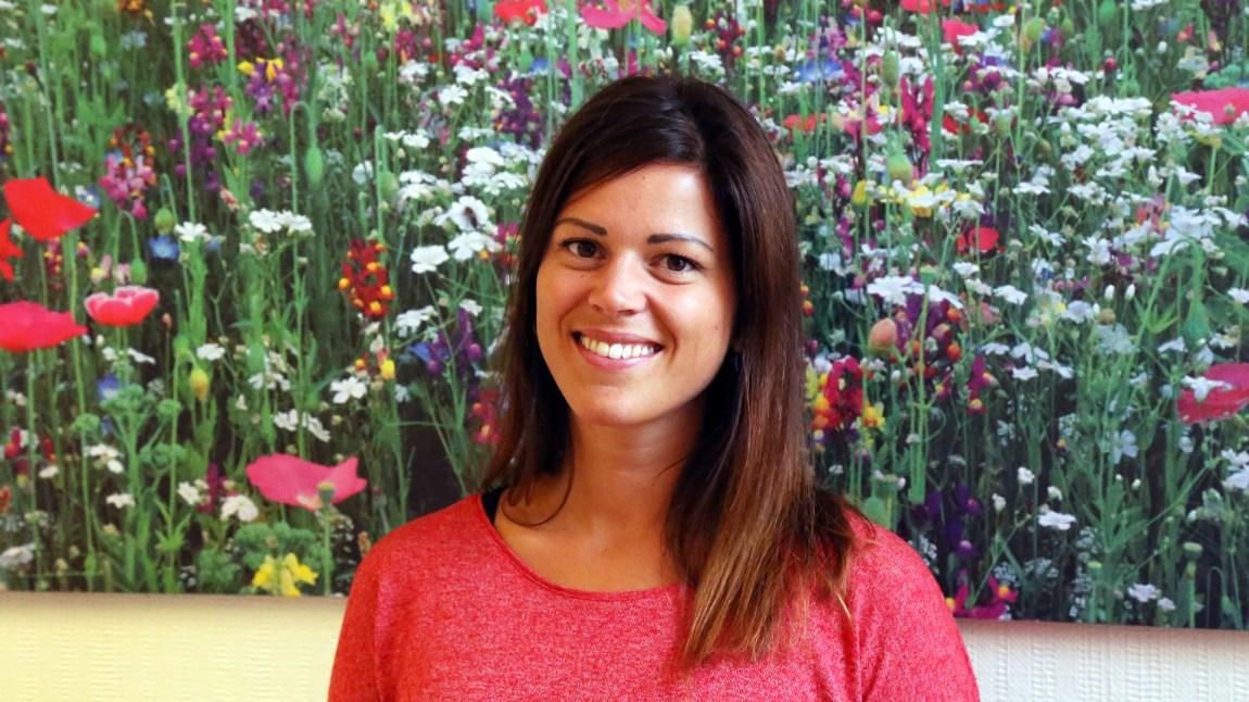Helsesøster Kristin Fredriksen ved SiT tror den største utfordringen for nye studenter vil være å styre tida si. Foto: Kjersti Havdal, NRK P3
