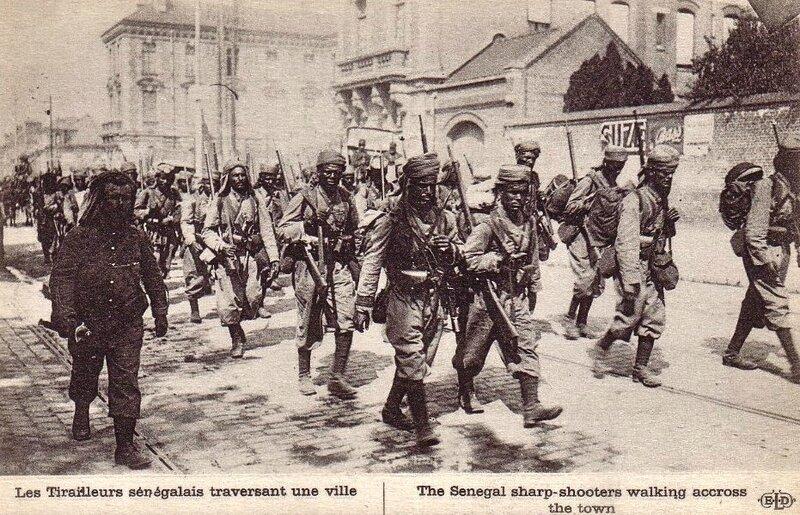 Tirailleurs sénégalais Amiens 1914 (2)