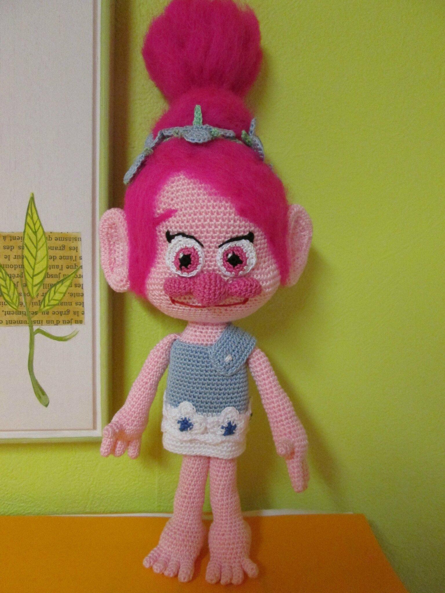 les trolls de disney branche et poppy