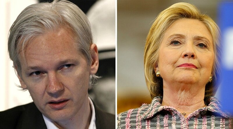 Julian Assange & Wikileaks vs Hillary Clinton