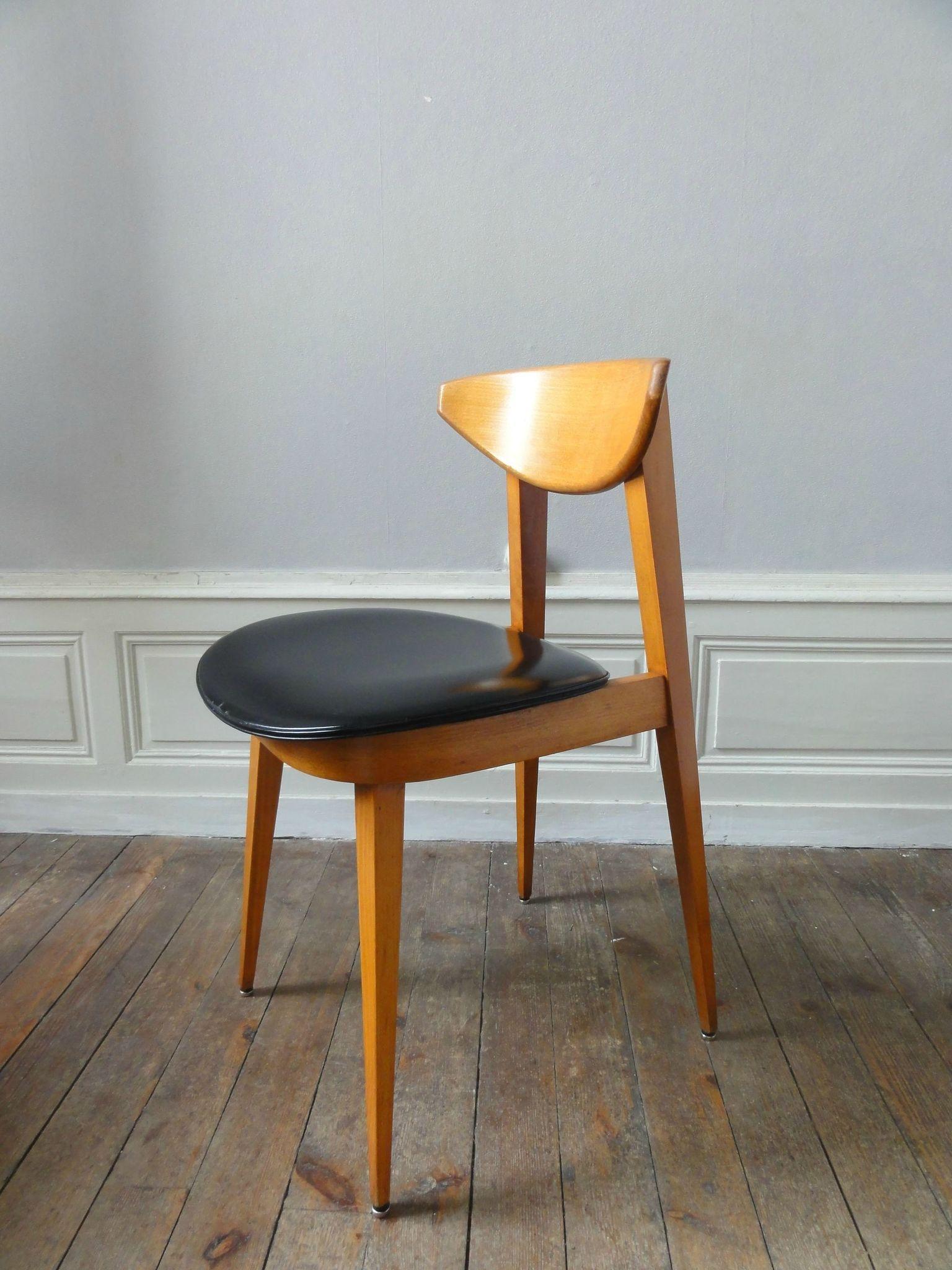 6 chaises de style scandinave vintage