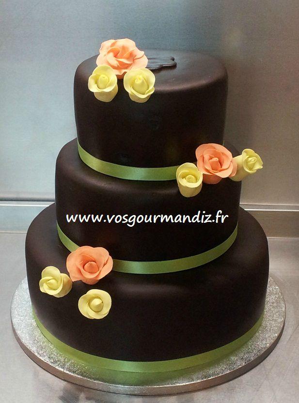Wedding Cake 3 Tages Vos Gourmandiz