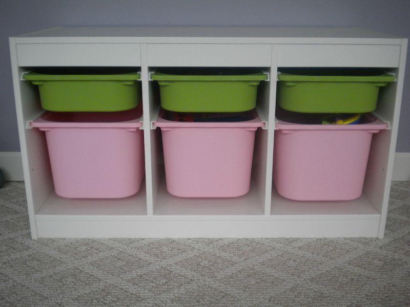Meuble De Rangements Pour Enfants Trofast Ikea Our