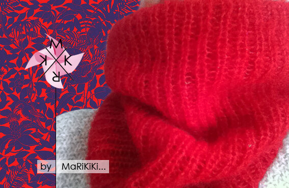 11 snood mohair