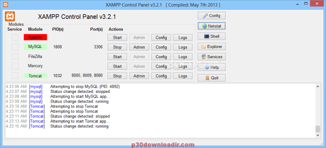 XAMPP 7.3.4-0 / 7.2.16-1 / 7.1.27-1 / 5.6.40-0 Crack Download For Windows 7, 8, 8.1,10