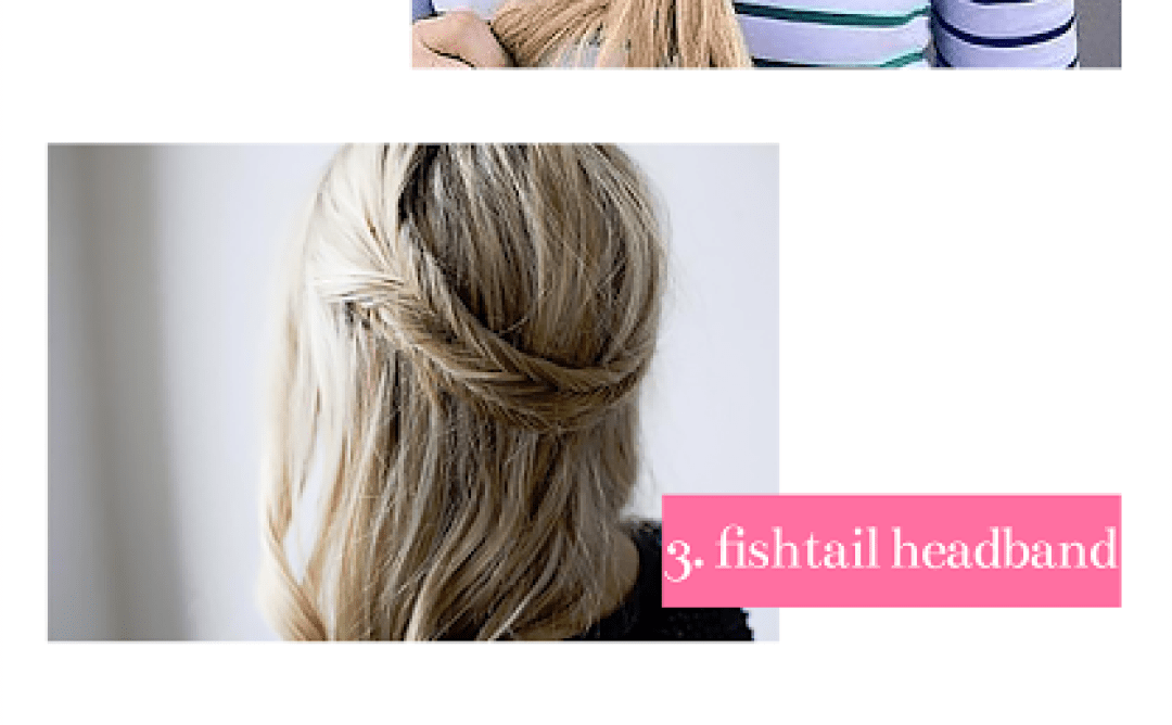 twists on the fishtail braid