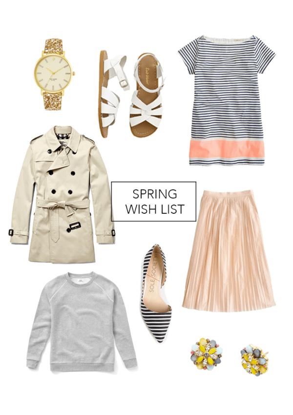 my spring wish list