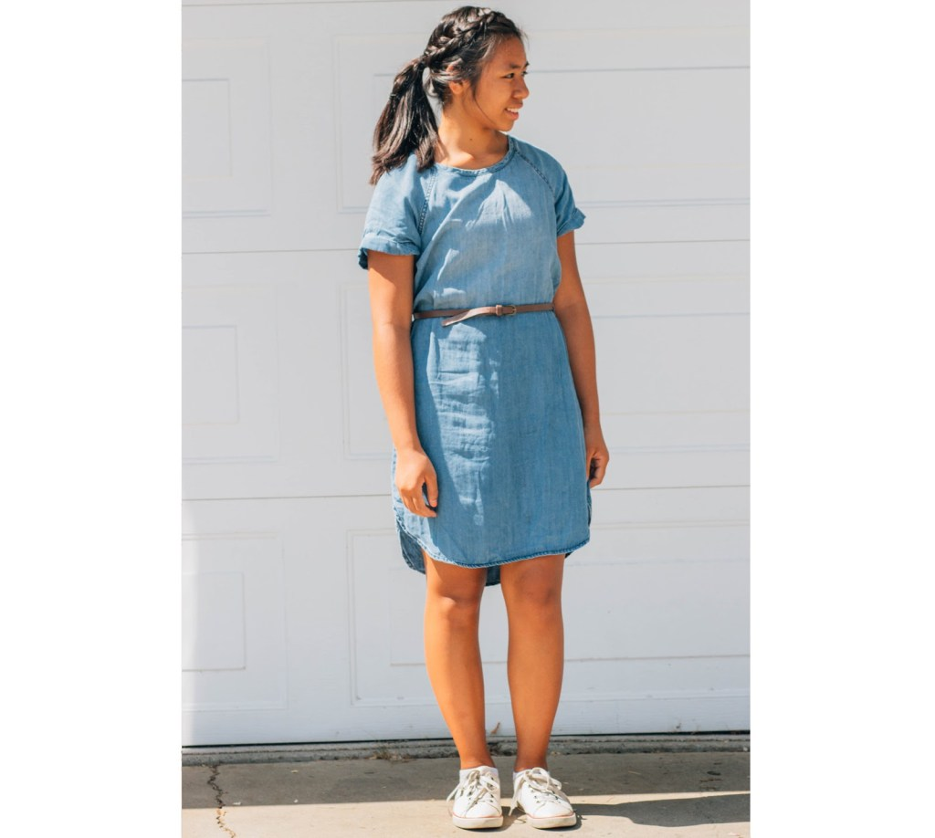 outfit4 1024x918 - Chambray for School- 7 Outfits
