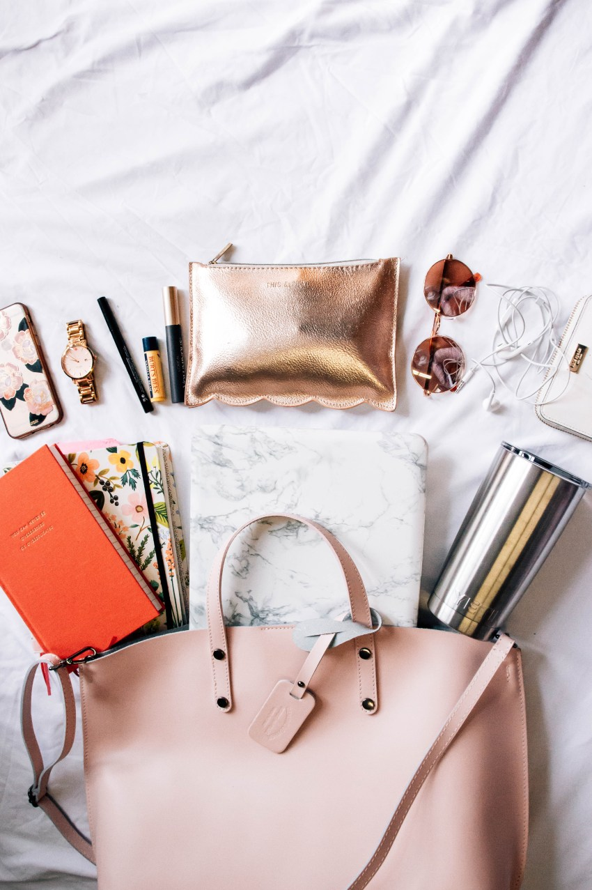 What's in My Pink Bag | What I Can't Leave Without