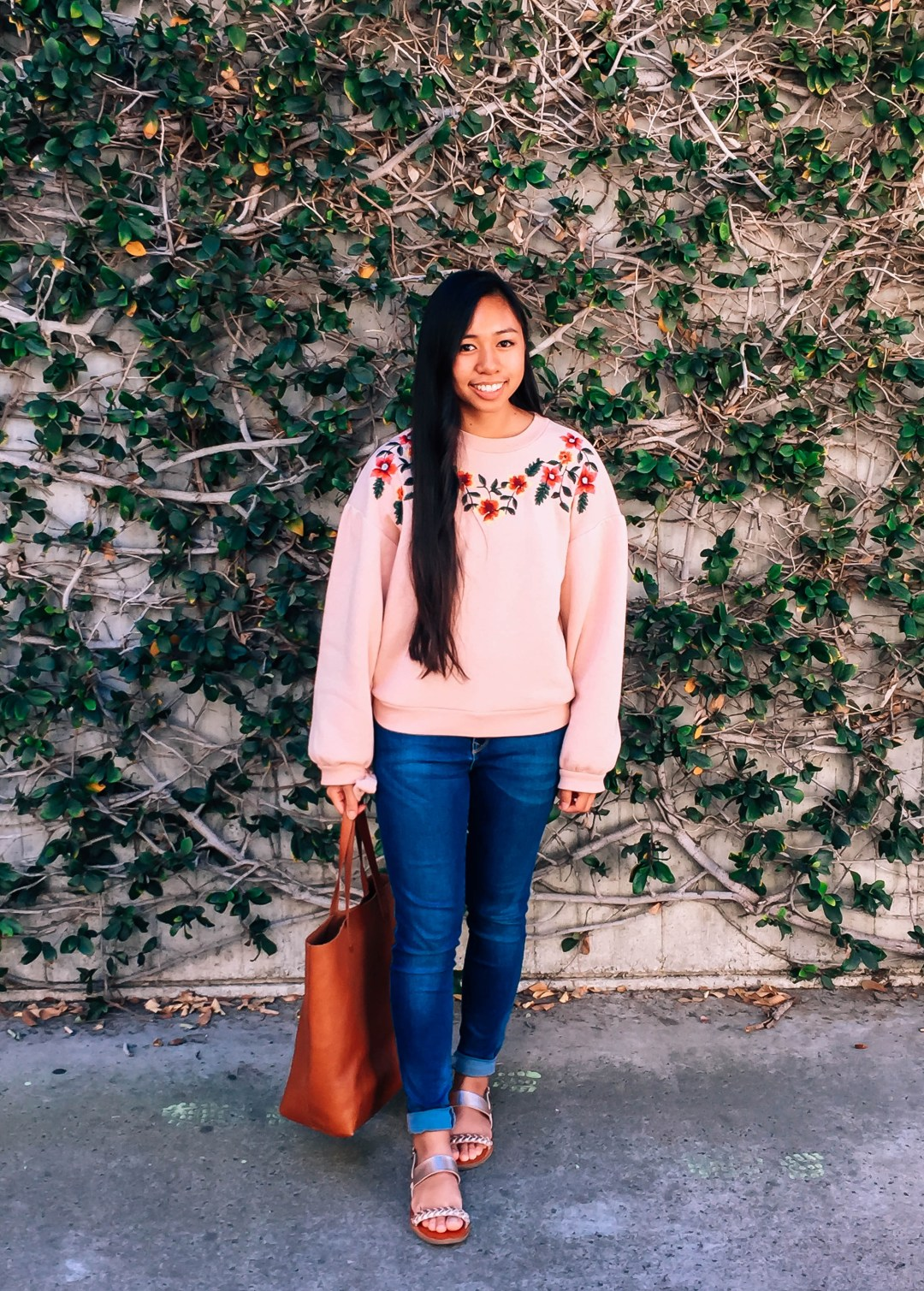 IMG 3423 - What I Wore This Week in College | Spring Outfits for School
