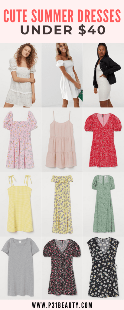 Are you looking for cute and casual summer dresses that are affordable? Read this post for a round up of casual summer 2020 dresses under $25 from Shein, H&M, ASOS, and more! This post also contains a 15% off Shein coupon code. Click to read now!