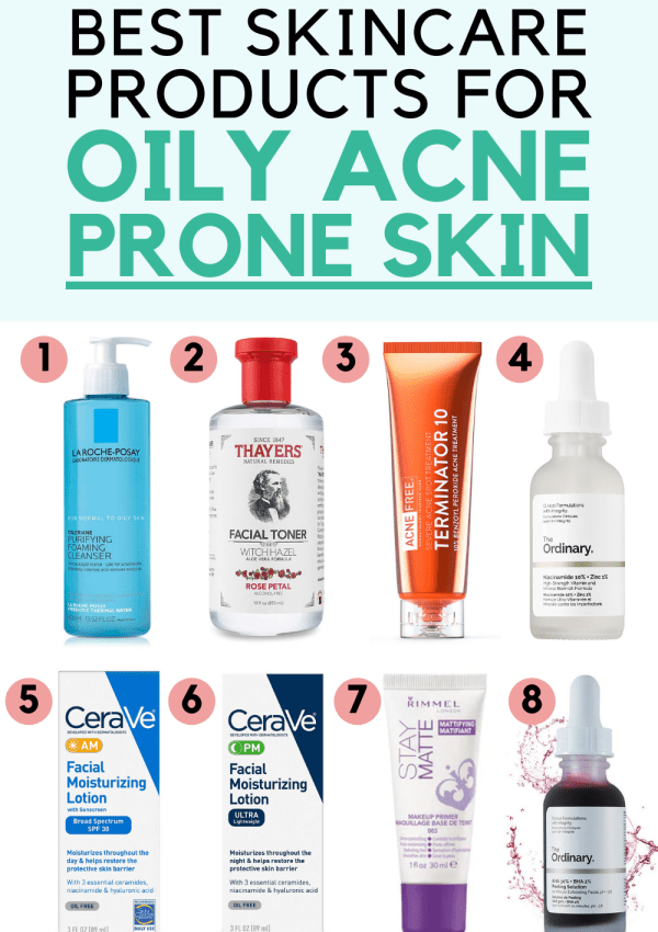 9 Best Skin Care Products for Oily Acne Prone Skin