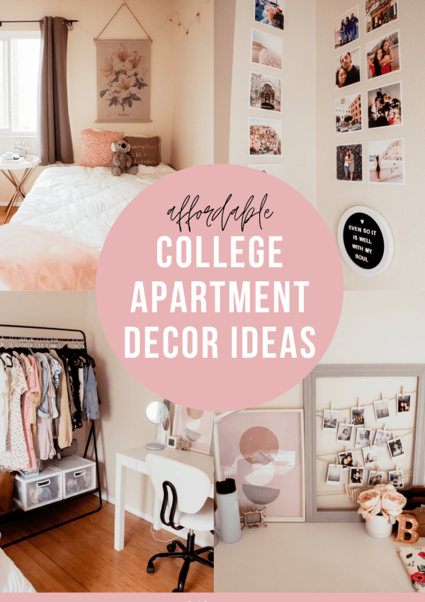 Affordable College Apartment Bedroom Decor Ideas