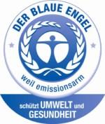 Blauer Engel Siegel für Emissionsarmut
