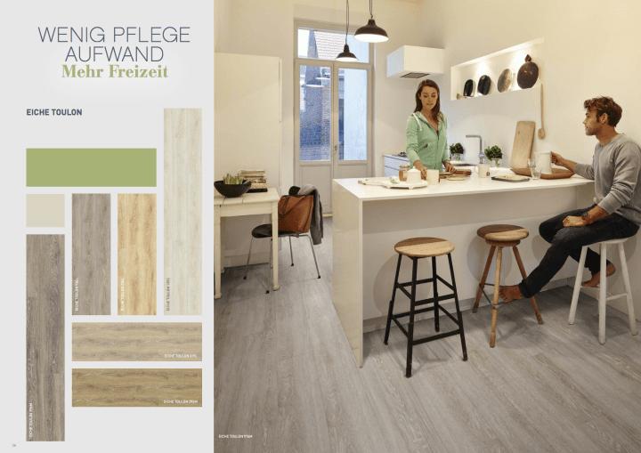 berryAlloc PURE Click Designbelag zeigt starke Hochdekore